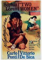 Sophia Loren Eleonora Brown Autograph Hand Signed Photo Authentic Coa Autografo