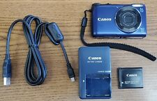 Canon PowerShot A2200 14.1MP Digital Camera - BLUE - USED