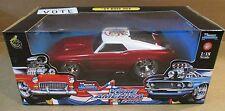 Muscle Machines '69 Mustang Boss California Vote America Red Car Die-Cast 1:18