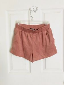 Blush Pink Woven Shorts Forever 21