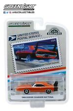 GreenLight 1:64 1969 Dodge Charger Daytona USPS America on the Move Muscle 30068