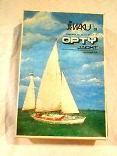 Waku Opty Jacht Vacu-Form Plastic Model Kit-Original Box-Complete-Unbuilt-Poland