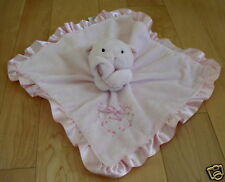 Just One Year Carters Pink Bear/Dog Blanket SWEET