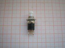5 Miniatur-Taster  Drucktaster  weiß  Schließer