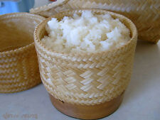 Sticky Rice Bamboo Basket Thai Lao Food Cooking Safety For Health Size 3.0 inch