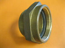 """FIRE HOSE / HYDRANT HEX ADAPTER 3"""" Female NST x 3"""" Male NPT"""