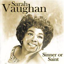 Sarah Vaughan - Sinner Or Saint CD