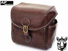 V62 Vintage Leather Case Bag for Fuji Fujifilm Instax Wide 200 210 300 Camera