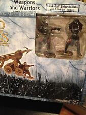 """MIB Lord of the Rings, Armies of Mid-Earth, """"Uruk-hai Siege Ballista"""" with 2 fig"""