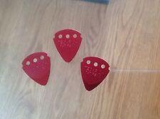 3 X Dunlop Teckpick Metal Guitar Picks Plectrums