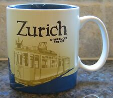 NWT Starbucks ZURICH Switzerland Global Icon City Collector Series Mug with SKU