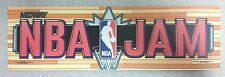 NBA Jam arcade marquee sticker. 3 x 10. (Buy any 3 stickers, GET ONE FREE!)