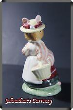 """JC&C - Vintage Royal Doulton Figurine Mouse """"Lady Woodmouse"""" - MINT"""