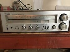 vintage classic Technics SA-200 stereo receiver clean nice works sounds Great 😊