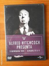 DVD ALFRED HITCHCOCK PRESENTA - TEMPORADA UNO - DISCOS 3 Y 4 (14 EPISODIOS) (Q4)