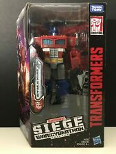 Transformers Siege War For Cybertron OPTIMUS PRIME Voyager Class Figure WFC-S11