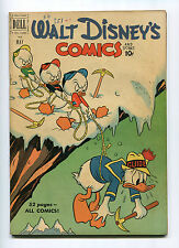 WALY DISNEY COMICS AND STORIES #128 (5.0) BARKS ART 1951