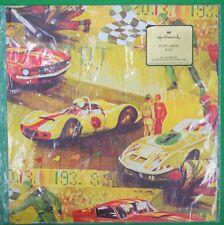"""Vintage 'Hallmark For Men Race Cars' Gift Wrap!"