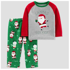 18M Baby Boys' Santa's Sidekick 2pc Pajama Set - Just One You by Carter's NEW