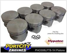 Hypatec Flat Top Piston set Holden V8 304 VN VP VR VS VT 5.0L PHO308LFT80301H