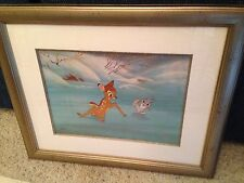 WALT DISNEY...BAMBI...ORIGINAL HAND PAINTED ART CELL..LIMITED EDITION ...46/500