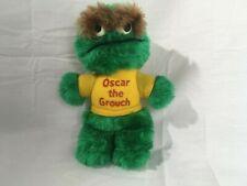 Hasbro Softies OSCAR The Grouch Plush Sesame Street Stuffed Monster Toy