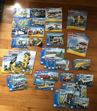 Lego Instruction Manuals Creator City Bulk Lot 380