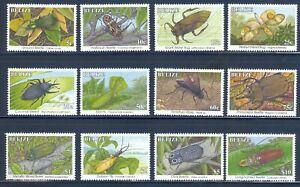 Belize 1035-1046 Insects, SG 1070-81A, set/12, 1995, Mint OG NH