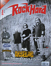 ROCK HARD 11 2010 Phil Anselmo King Diamond Alter Bridge Virgin Steele Atheist