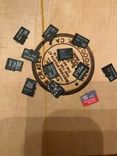 Mixed lot of various sized Micro SD Cards Lot of 12!