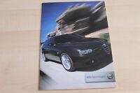 85197) Alfa Romeo 156 Sportwagon Prospekt 07/2004