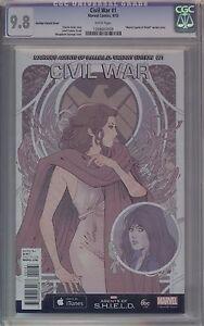 CIVIL WAR #1 - S.H.I.E.L.D. VARIANT - CGC 9.8 - 1268607009