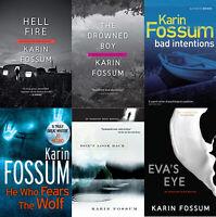 Karin Fossum - Inspector Konrad  Kit - Complete Series with 12 [EB0oK  P.D.F]