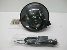 "Harley OEM 7"" Daymaker Projector LED Headlamp Gloss Black Touring Softail FLD"