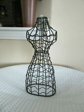 New Metal Wire DOLL DRESS FORM MANNEQUIN Table Top Black