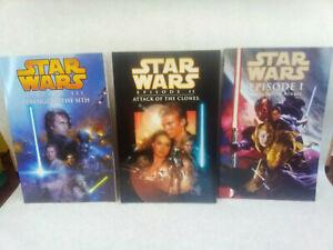 Star Wars Episode 1 2 3 Dark Horse Comics Books Lot of 3 Graphic Novels