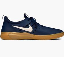 Nike SB Nyjah Free Skateboard Sneakers Midnight Navy Gum Nyjah Huston