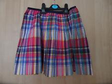 Polo Ralph Lauren Tartan Style Skirt New Age 16 Size XL Plaid Rainbow Pink
