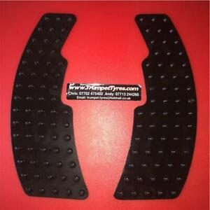 Tank Grip Pads Black Pad Grips Protection Traction Anti slip Side Grippers kit