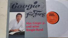 MAX GREGER JR. UND SEINE BOOGIE-BAND Boogie für Fans EUROPHON LABEL *NM*