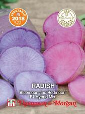 Thompson & Morgan - Radish Bluemoon and Redmoon F1 Hybrid Mix - 100 Seeds