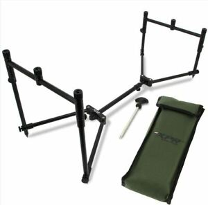 NEW - NGT XPR 3 Rod Pod - Compact, Lightweight Compact and  Fully Adjustable