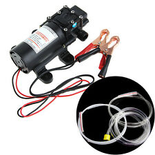 5L DC12V Transfer Pump Extractor Oil Fluid Scavenge Suction Vacuum For Car Boat