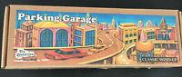 Vintage Tin Treasures Classic Windup Parking Garage