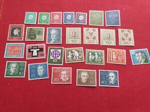 BRD Jahrgang 1959 Postfrisch Sammlung