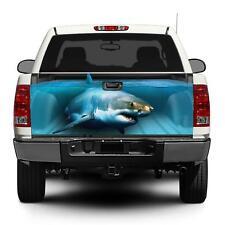 Shark Truck Rear Tailgate Vinyl Wrap Skin sticker Graphic Decal