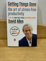 Newest Getting Things Done : The Art of Stress-Free Productivity by David Allen