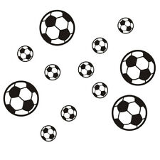 12 balls football soccer wall sticker wall tattoo stickers children room X4 P2P2