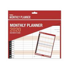 2020 MONTHLY PLANNER MONTH TO VIEW 5 COLUMN CALENDAR ORGANISER ROTA FAMILY 3813
