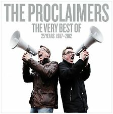 THE PROCLAIMERS THE VERY BEST OF...25 YEARS...1987-2012  2CD SET (Greatest Hits)
